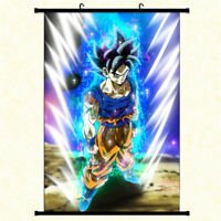 Anime Dragon Ball Z Goku Wall Scroll Poster Home Decor Art Cos Painting Gift #4
