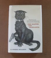 THE MASTER AND MARGARITA by Mikhail Bulgakov - 1st edition stated HCDJ 1967 VG+