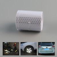 Weiß Reflektierende selbstklebende Sicherheit Warnung Tape Roll Film Sticker