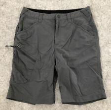 Mens Berghaus Grey Lightweight Walking Hiking Shorts 32 Good Condition