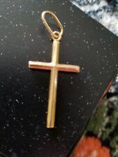 18k Yellow Gold Cross