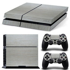 PS4 SKIN LUMINOSO STOFFA DESIGN ETICHETTA Playstation 4 Vinile