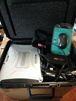 "Panasonic ToughBook CF-19 mk8 10"" i5 16GB 240GB SSD Touchscreen CF19z Win10 Case"