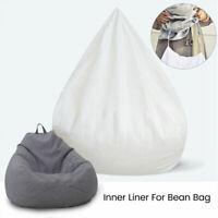 Inner Liner Bean Bag Stocking Sofa Cover Easy Cleaning Filling Polystyrene Beads