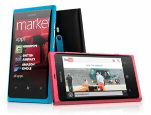 Nokia Lumia 800 3G WIFI GPS 8MP Camera 16GB Storage Unlocked Windows Original