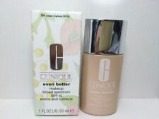 Clinique Even Better Makeup SPF 15 Foundation 1.0 oz Full Size 04  Cream Chamois