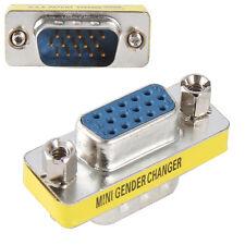 10X VGA/SVGA 15 pin Port Saver VGA D-sub Female to Male Adapter Connector