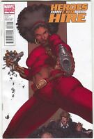 Heroes For Hire 6 B Marvel 2011 NM 1:15 Harvey Tolibao Variant Misty Knight