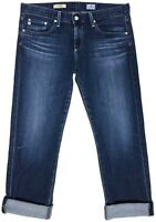 AG Adriano Goldschmied Womens Jeans Tomboy Crop Relaxed Straight 34x30