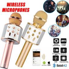 Wireless Bluetooth Karaoke Microphone Built-in Bluetooth HIFI Speaker Mikrofon