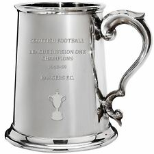 RANGERS F.C. 1958-59 Division One Champions 1pint Pewter Tankard