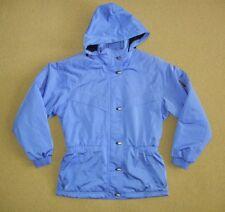 Vtg DESCENTE Bright Blue Warm Winter SKI JACKET Snow Board Coat Women's SIZE 10