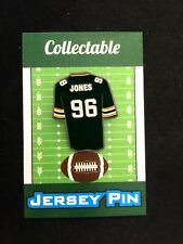 Green Bay Packers Sean Jones lapel pin-CHEESEHEAD Collectable-Fan Favorite