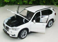 BMW X5 1/24 Scale Diecast Model Toy Car Metal Miniature White