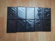10x DVD Hüllen Einzel schwarz Set 2