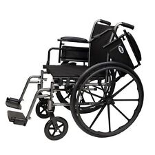 "Probasics Lightweight Wheelchair 20"" Wheel Chair - Removable Desk Arms"