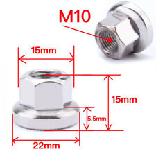 M10 Stainless Steel Bicycle Track Wheel Nuts Hex Nut DIY Accessories