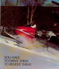 1972 Vintage Uncirculated Rupp Snowmobile Sales Brochure