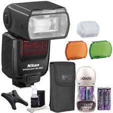 Nikon Speedlight SB-5000 AF Shoe Mount Flash + Battery & Charger + Cleaning Kit