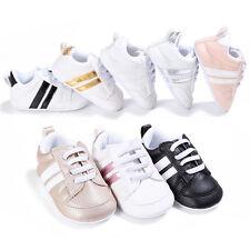 bébé enfant garçons filles cuir synthétique Chaussures crèche Doux Petit baskets