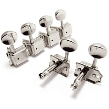 NEW Gotoh SD91-05M 6-In-Line Vintage Style Tuners for Fender Strat Tele - NICKEL