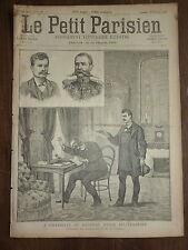 PETIT PARISIEN - 1890 N° 95 assassinat du général russe SELIVERSTOFF