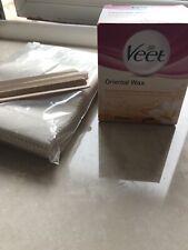 Veet oriental Hot wax And 1000 Fabric Waxing Strips  Eyebrows Legs Arms Wax