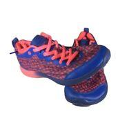 Vionic Agile Fyn Pink and Blue Walking Running Comfort Shoes Sneaker Womens Sz 8