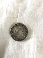1957 Nederland 1 G Silver Coin Julian Koningin Dernederlanden