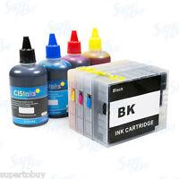 Refillable Ink Cartridge Kit for Canon PGI-2200 XL MAXIFY IB4020 MB5020 Non-OEM
