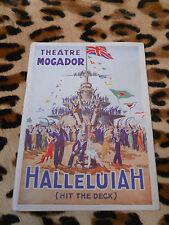 PROGRAMME -Théâtre Mogador - Halleluiah