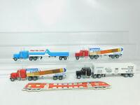 BN44-0,5# 4x Wiking H0/1:87 US-/USA-Truck Peterbilt: Lack + Siemens + Atlas NEUW