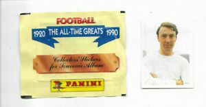 PANINI Football All Time Greats 1920-1990 unopened packet + #35 Jimmy Greaves