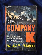 COMPANY K by WILLIAM MARCH - CORGI BOOKS 1959 - P/B - UK POST £3.25