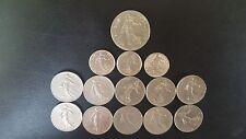 LOTTO monete LIBERTE EGALITE FRATERNITE RARE-alta qualità