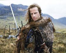 REPRINT - CHRISTOPHER LAMBERT 1 Highlander autographed signed photo copy