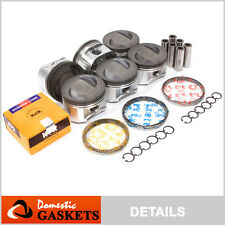 Fit 96-04 Nissan Frontier Quest Infiniti QX4 3.3L Pistons and Rings Set VG33E