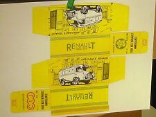 REPLIQUE BOITE RENAULT CIJ AMBULANCE 1959