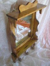 Mueble ESPEJO con colgadores, artesanal y exclusivo, muy decorativo, xl