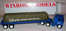 Quigley Diecast Delivery Flat Bed With Cloth Covered Load Gold Chains Truck