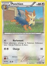 Ponchien -N&B:Explorateurs Obscurs-87/108-Carte Pokemon Neuve France