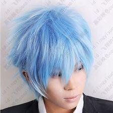Kuroko's Basketball Kuroko Tetsuya Ice Blue Cosplay Short Wig Postage Free shipp