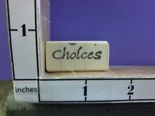 Sayings Choices Wee rubber stamps 26P