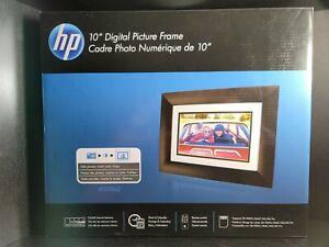 "HP HPDF1010P1 10.1"" Digital Picture Frame Open box, All original items"