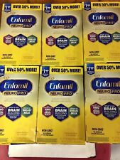 Enfamil NeuroPro Infant Formula Powder 31.4 oz Refill Pouch 6 Boxes EXP 8/2021