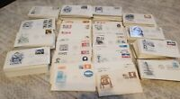 Lot of 50 Cacheted US First Day Covers Picked From Large Collection, NO DUPES!