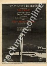 Mike Oldfield David Bedford Orchestral Tubular Bells MM5 LP Advert 1975 #1 AB