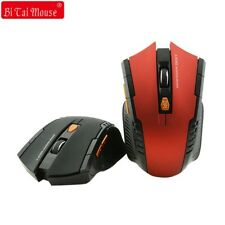 Bts 2.4G Wireless mouse Optical 6 Buttons mouse gamer USB Receiver 1600DPI 10M