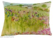 """17""""x13"""" Village Green Sue Fenlon Cushion Evans Lichfield DP968 43x33cm Flowers"""