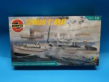 """Airfix German E-Boat 1:72 Scale #10280 18"""" Model series 10 Sold as Parts (Z)"""